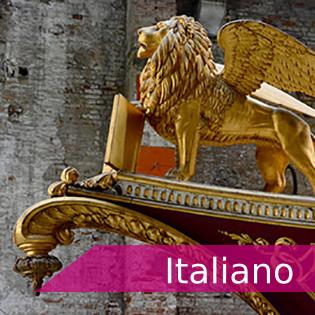 """<p><span class=""""s1"""">Tarjeta con vínculo a información de exámenes y certificaciones de Italiano</span></p>"""